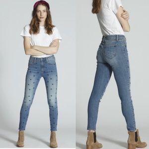 Anthropologie Driftwood Jackie high rise jeans 26